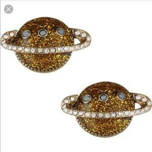 Betsey Johnson Saturn Earrings